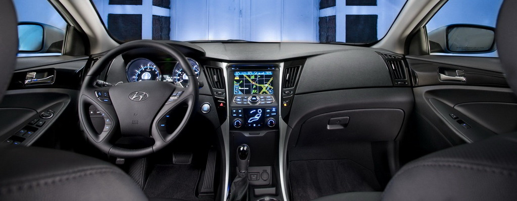 2013 Hyundai Sonata Black Interior The Image Kid Has It