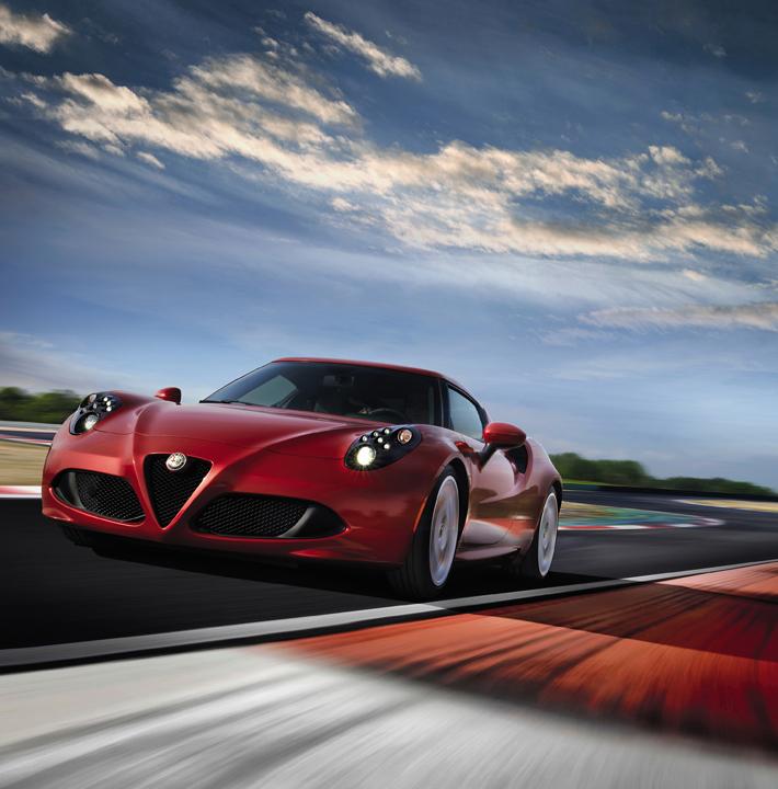 Alfa Romeo 4C (European-spec)