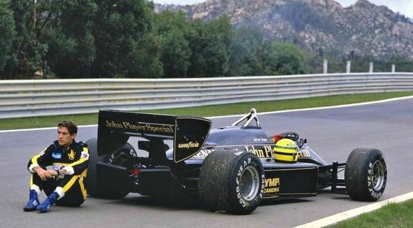 Ayrton Senna Lotus