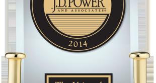 JD Power IQS award