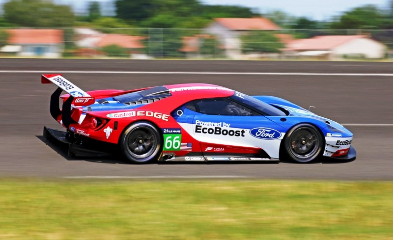 The Ford Gt Race Car Was Testing And No One Knew About It Heres The Video That Sound