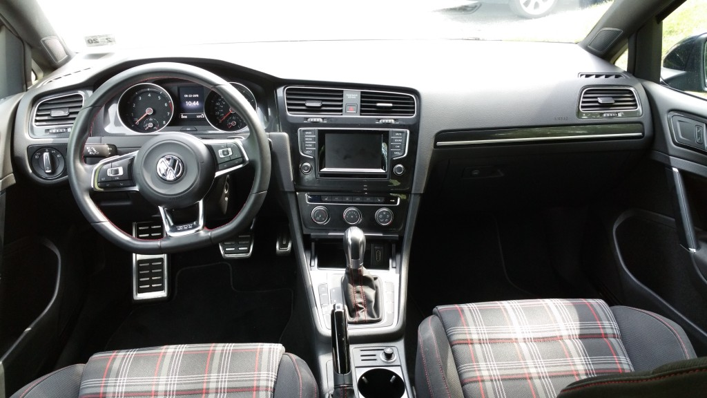 2015 VW GTI Interior