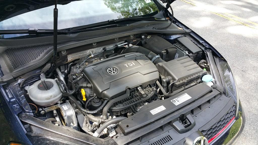 2015 VW GTI Engine