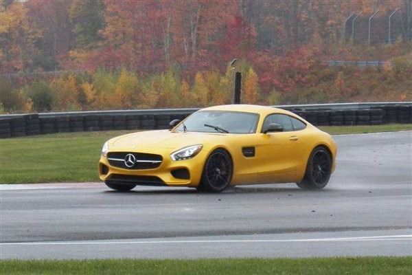 AMG GT S On Track IMPA