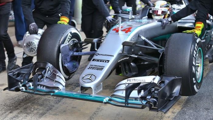 Merc F1 Wing
