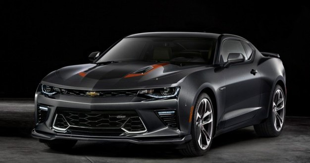 chevy camaro 50th anniversary 2