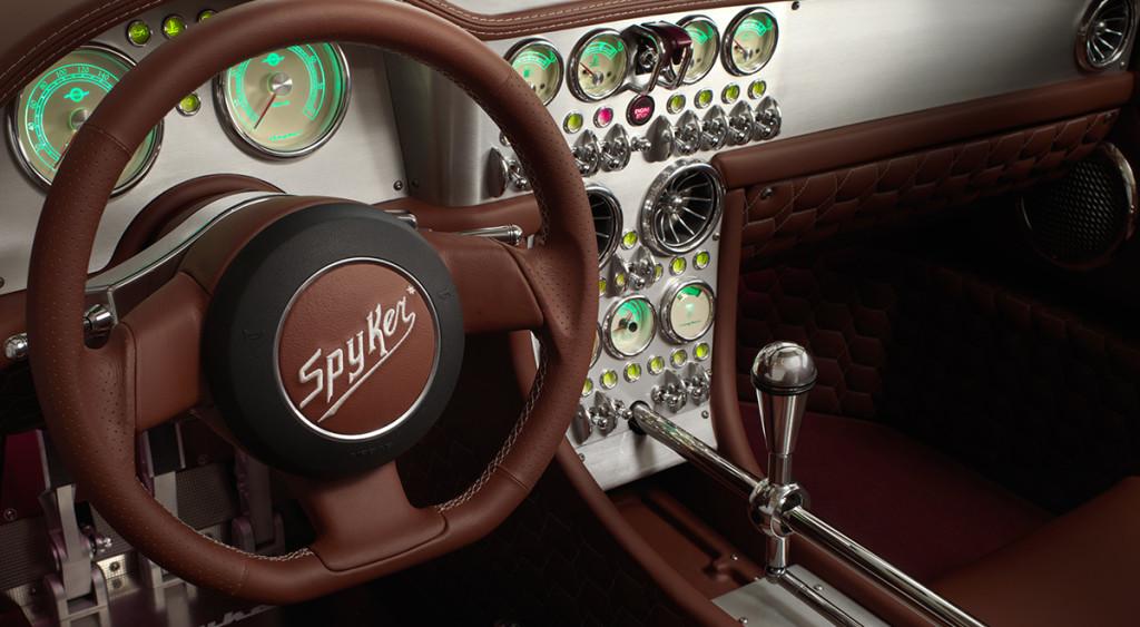 Koenigsegg One Interior >> PREVIEW: Spyker C8 Preliator