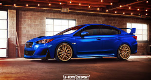 Is This Rendering The Next Generation Subaru WRX/STI?
