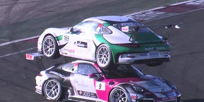 Mounted Porsche