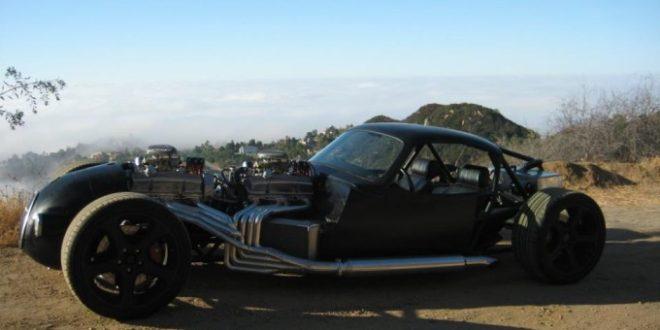 Twin V8 Rat Rod
