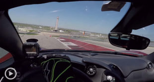 Driver's Eye View From A P1 Around COTA