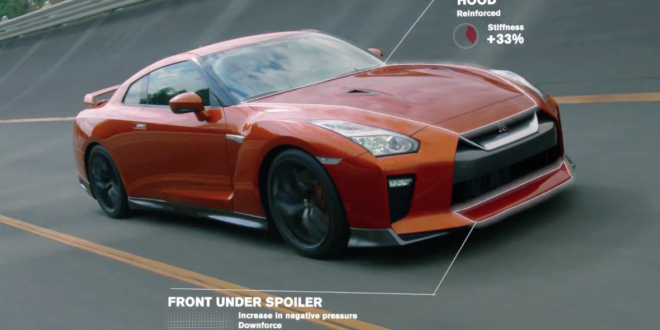 2017 nissan gtr detail video