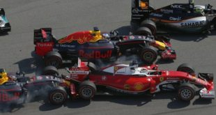 From Russia Without Love: Kvyat Ruins Vettel's Race… Again.