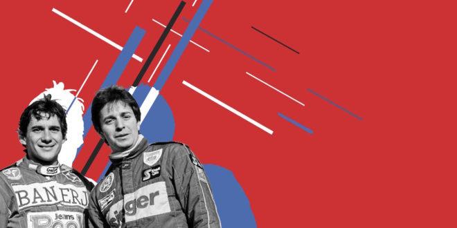 Senna v Brundle
