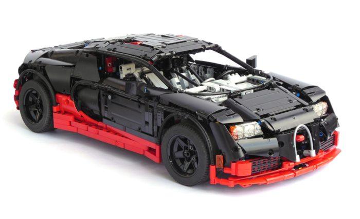 bugatti veyron supersport in glorious lego form. Black Bedroom Furniture Sets. Home Design Ideas