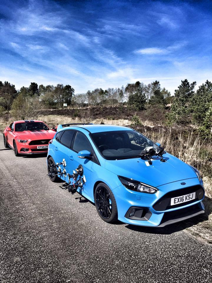 clarkson amazon prime ford focus rs and mustang