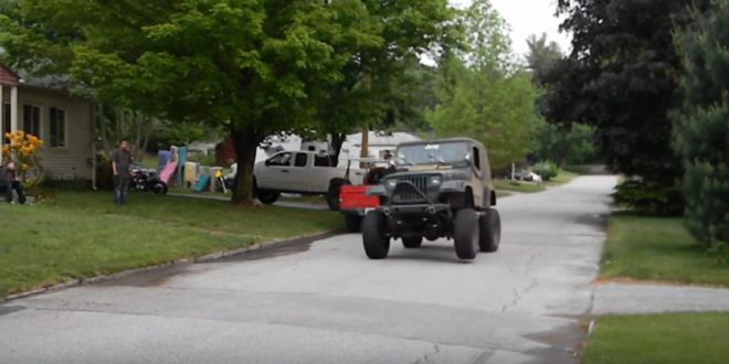 lexus v8 jeep wrangler