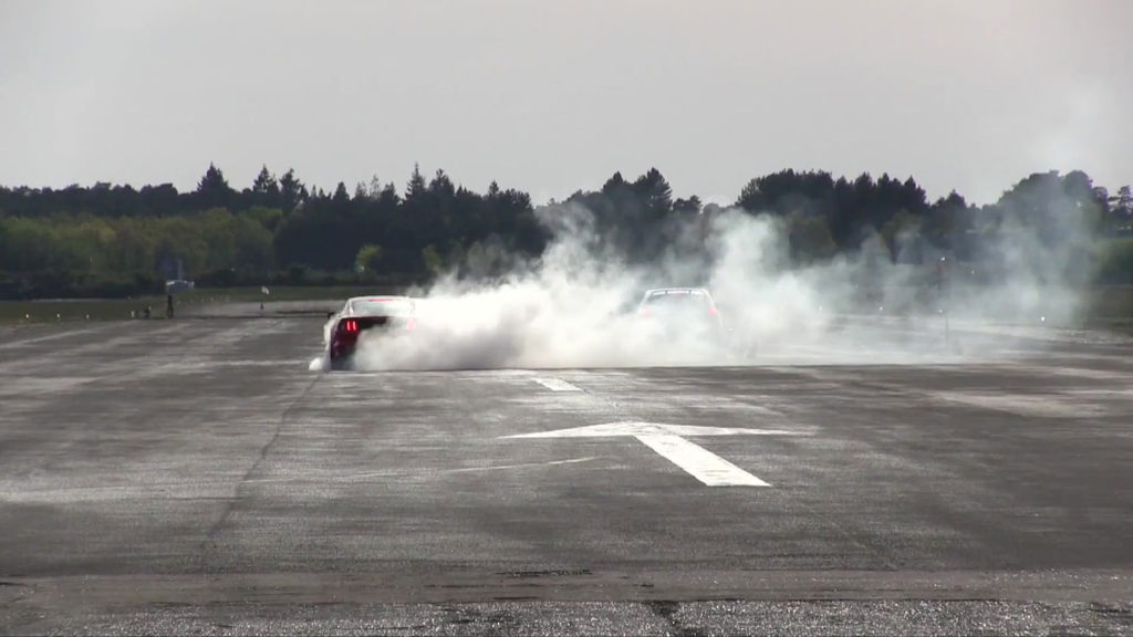 mustang-amazon-prime-burnout