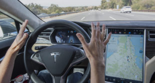 Slumber Support: Man Falls Asleep Behind Wheel Of Tesla On Autopilot.