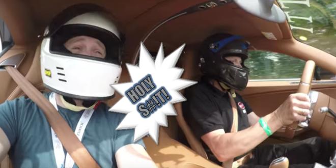 Bugatti chiron passenger alex kersten car throttle