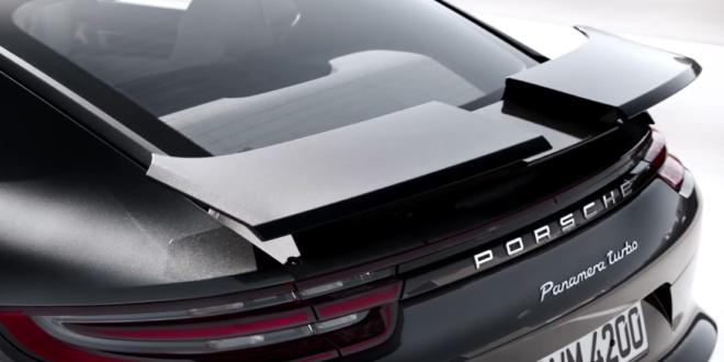 Porsche Panamera Turbo Wing