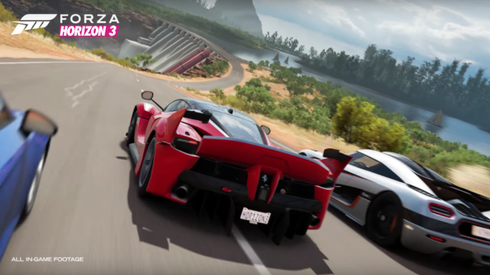microsoft fires back at playstation with forza horizon 3 39 s. Black Bedroom Furniture Sets. Home Design Ideas