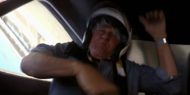 jay leno crash hemi under glass car