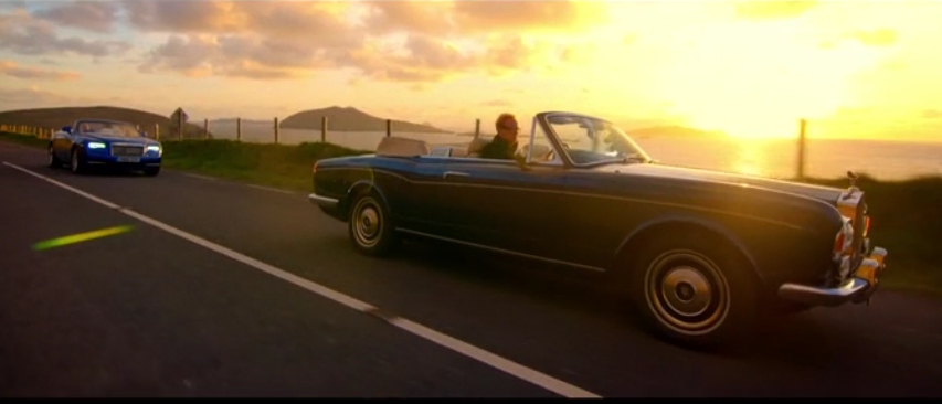 rolls royce corniche top gear