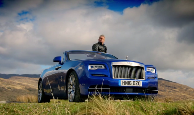 rolls royce dawn top gear