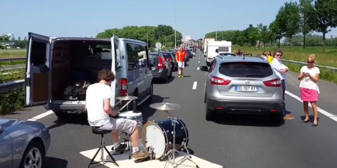 traffic jam session