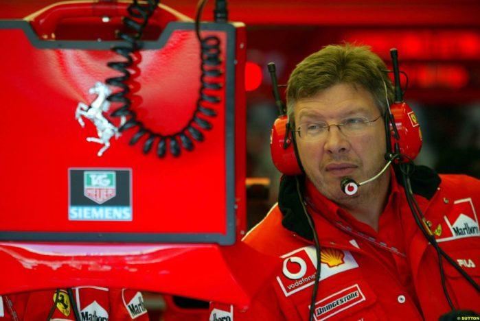 R Brawn Ferrari