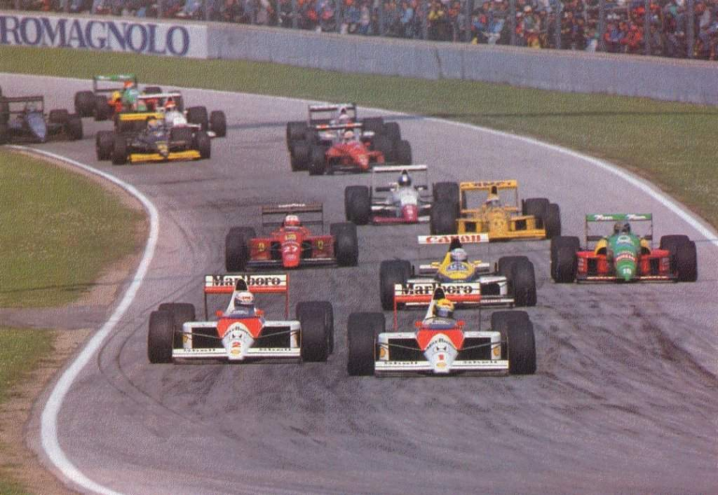 During the late 80s early 90s F1 was about pushing the man and machine to their absolute limit. Something severely lacking in F1 these days.
