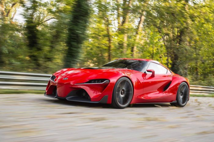 toyota FT-1 rolling