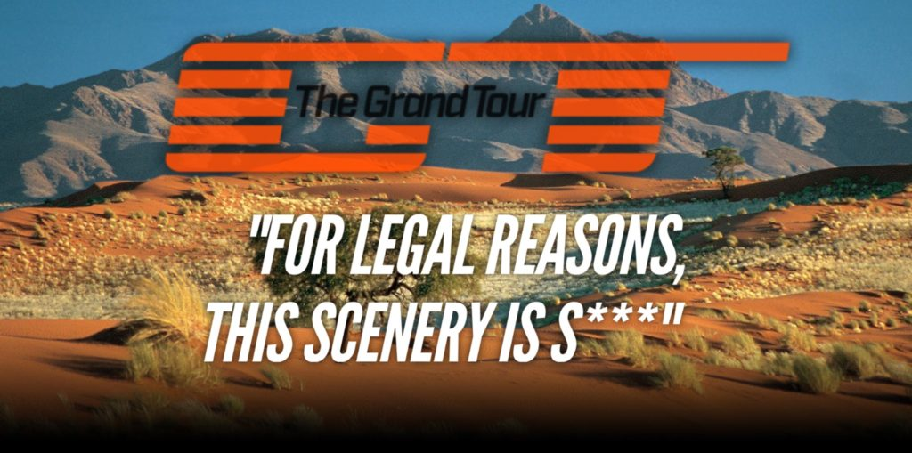 The grand tour sued