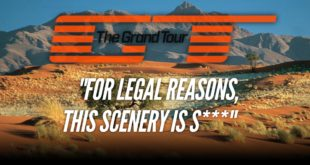 Things The Grand Tour Cannot Do In Fear Of Being Sued By The BBC