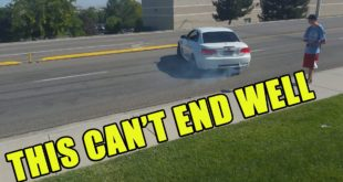 M3 Pulls a Mustang While Leaving Cars And Coffee