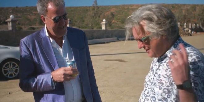 the grand tour james may steering wheel story
