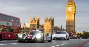 Video: Mark Webber Takes To The Streets Of London In His 919 Hybrid LMP1 Car