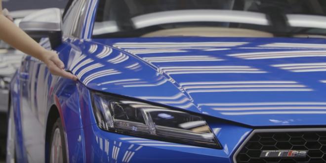 VIDEO: Make An Audi TT RS | Shifting Lanes