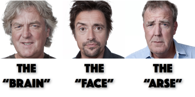 the grand tour trio nicknames