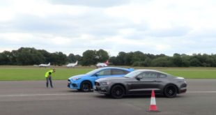 Ford Mustang GT Drag Races Ford Focus RS And The Result Is Not What I Expected