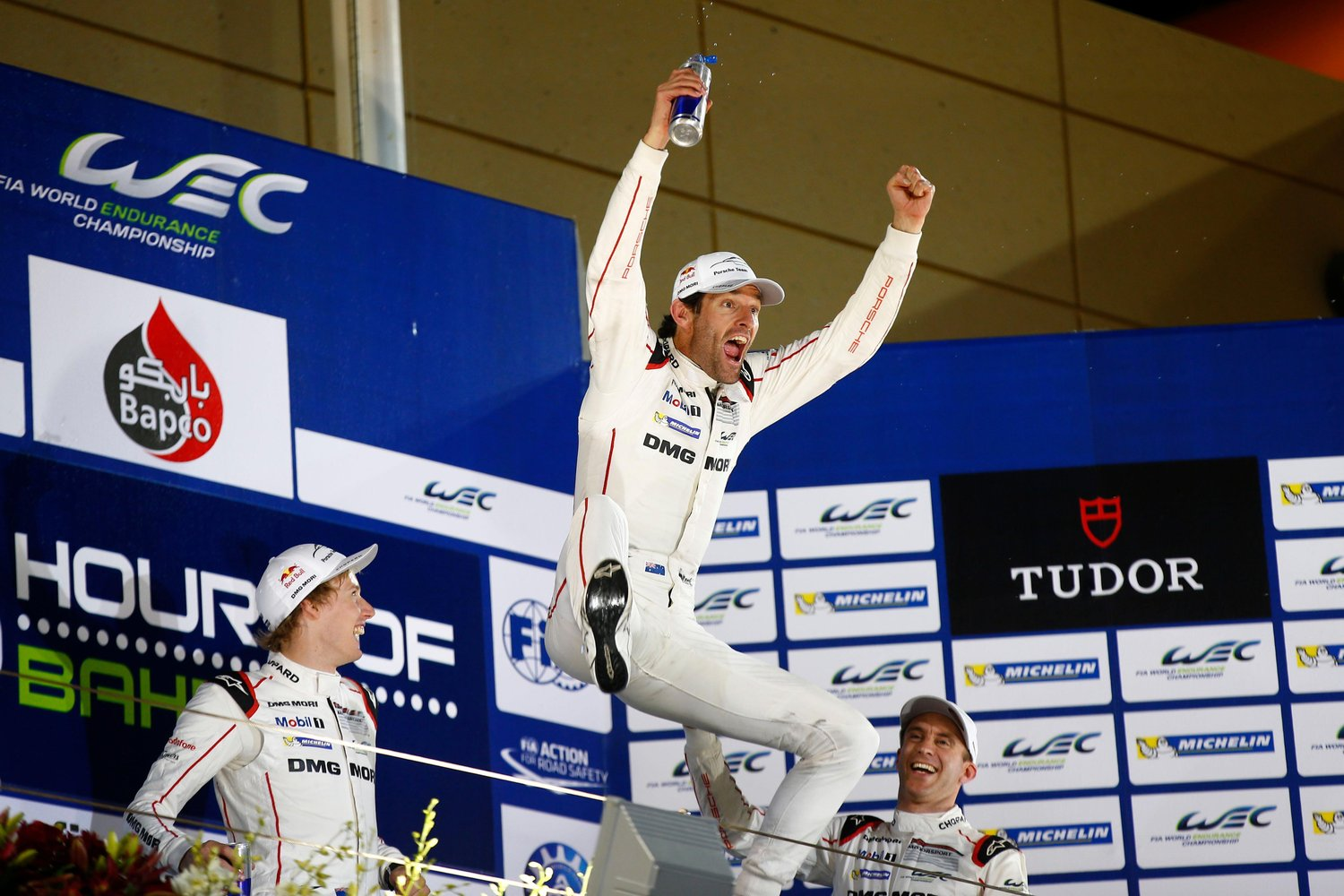 Webber won the 2015 WEC Driver's Championship