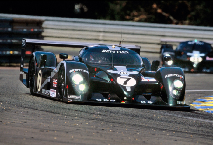 in 2003, audi won le mans disguised as a bentley | shifting lanes