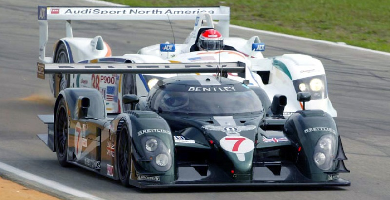 in 2003 Bentley finally defeated Audi. Even if it was with Audi Drivers and Joest's support