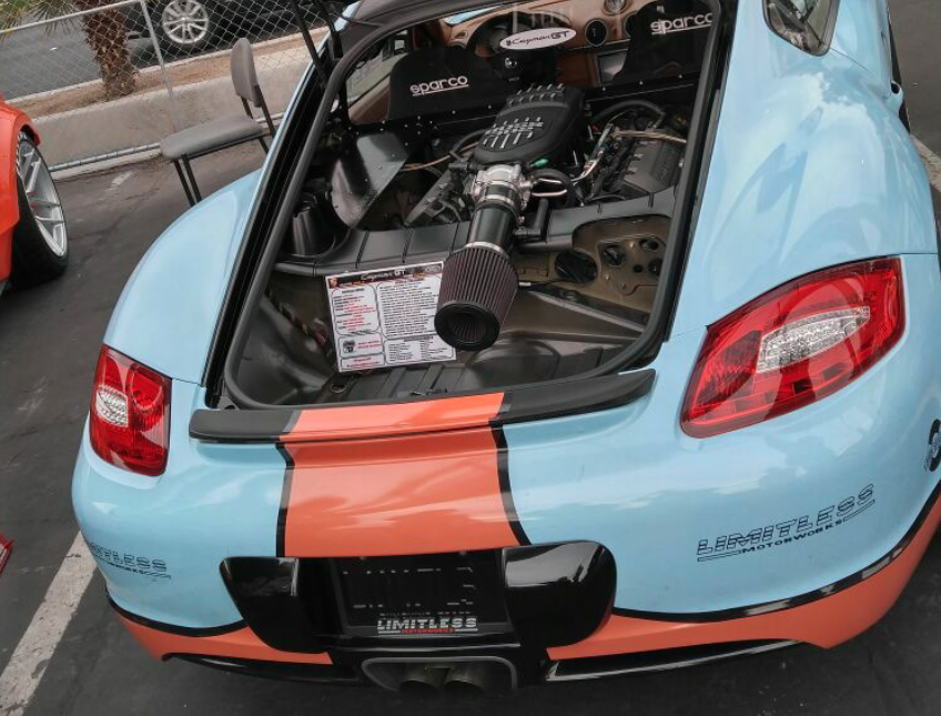 This Coyote Engine Swapped Porsche Cayman Is The Supercar Slayer Of Your Dreams
