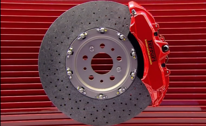 Watch how a ceramic composite brake disc is made