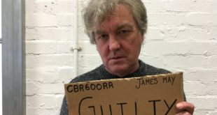 James May Has A Brilliant Solution To High Speed Cameras And Fines