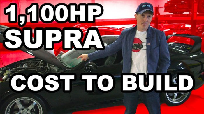How Much Does It Cost To Build A 1,100 Horsepower Supra