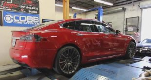 Tesla P100D Steps On A Mustang Dyno And Shows Its True Potential