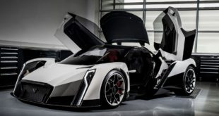 200 MPH Singaporean Hypercar, The Dendrobium, Just Revealed